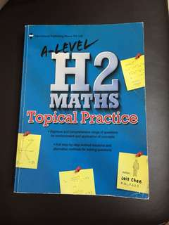 A Level H2 Maths Topical Practices