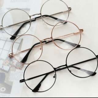 (instock) ulzzang round spectacles