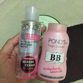 Ponds BB Powder & Micellar Water
