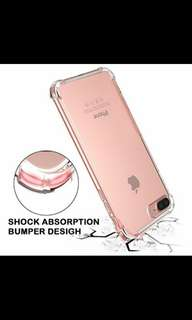 Premium Anti-Knock Shock Absorption & Anti-Shock Transparent Thick TPU Cover