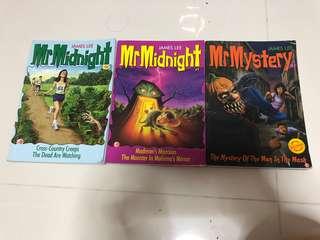 Mr midnight books #1, #2 & #54
