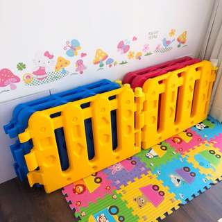 Farlin play yard panels (playpen)
