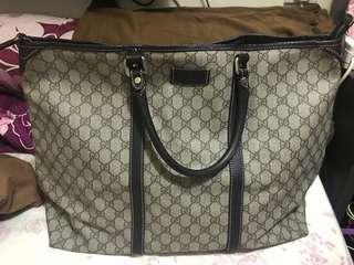 Gucci pvc 大旅行袋