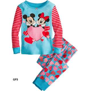 Disney Minnie Hello Kitty Sophia Girl Pyjamas Night wear