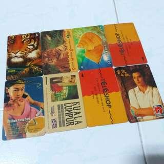 Vintage retro Phonecards
