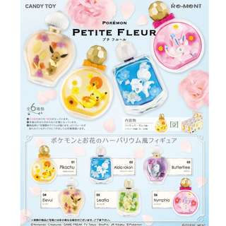[BOX / SPLIT] Re-ment Pokemon Petit Fleur figure with scent 6pcs set (Pre-Order)