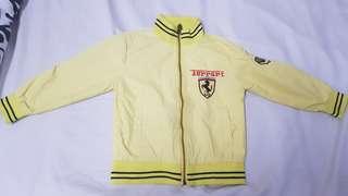 Preowned kids ferrari jacket size 3