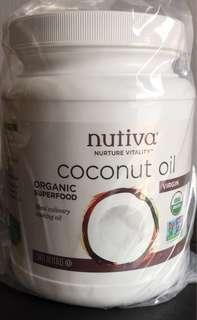 Organic Cold Pressed Virgin Coconut Oil - Unrefined 1.6 Liter Coconut Oil