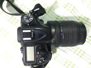Nikon D7100 with 18-140mm 1:3.5 - 5.6 G ED
