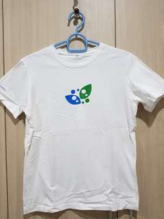 Kaos putih Biogreen Science