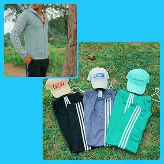 Sale Bundle!  Side Stripe Hoodie and Track Pants