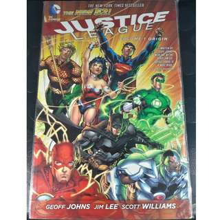 Justice League TPB Volume 1 Origin (The New 52!)