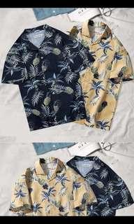 Hawaiian Beach Shirt (Korean Trend)