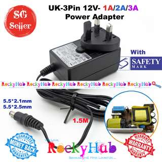 With Safety Mark UK-3 Pin Power Adapter With 5.5*2.1 For MEDELA SWING™ MAXI / FREESTYLE BREASTPUMP MAIN ADAPTER
