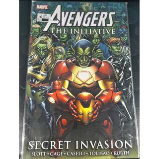 Avengers: The Initiative - Secret Invasion TPB