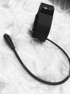 Fitbit Charge HR heart rate monitor used Size S