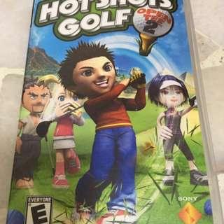 Hot Shots Golf Open Tee 1&2 PSP games