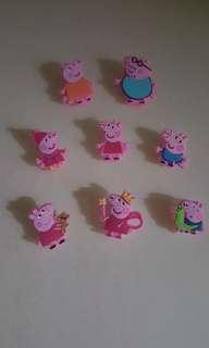 Peppa pig paper clip