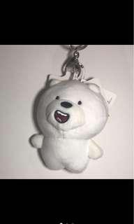 We Bare Bears Big Head Keychain (Ice Bear, Grizz, Panpan)