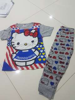 Hello Kitty Pyjamas 2-3/3-4yr /legging 5-6yr
