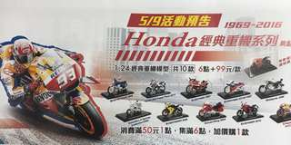 🚚 Honda 重機模型車