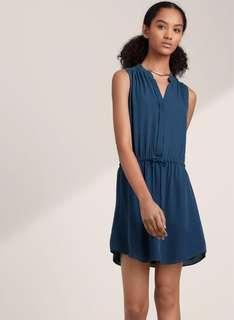 Aritzia BABATON Benedict 100% Silk Dress
