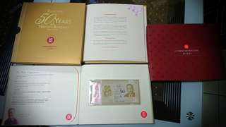 SG50 limited edition Commemorative Notes