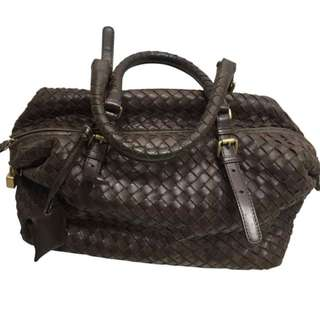 Bottega Veneta Timeless Handbag in Ebano Leather
