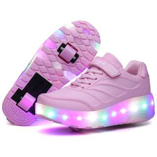 [NEW ] [ PO] !!! PROMOTION MONTH OF  MAY 2018  !! FOR THIS AWESOME PRETTY COOL LED ROLLER SHOES TWO WHEELS !! COME WITH ADULT AND KIDS SIZE !!  CAN BRING IT EVERYWHERE  !! BE THE FIRST TO GET NOW !!!!!