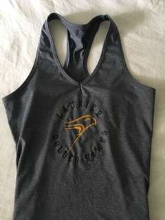 Laurier racer back tank top
