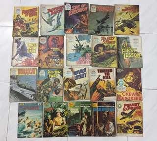 70's Vintage War Combat Comics
