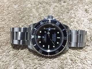 勞力士 Rolex 16600 Sea Dweller 深潛 T25 面有紙 gmt submariner