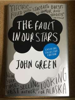 Exclusive Collector's Edition The Fault in Our Stars by John Green