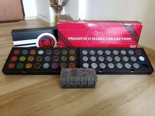 PBandai Premium O Medal Collection Kamen Rider ooo