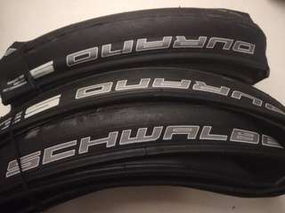 Pair of 700x23c tires for sale