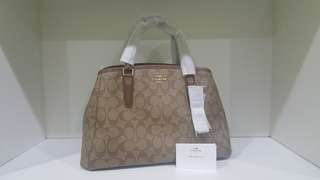 Further Mark Down!! 100% Authentic COACH Sage Carryall