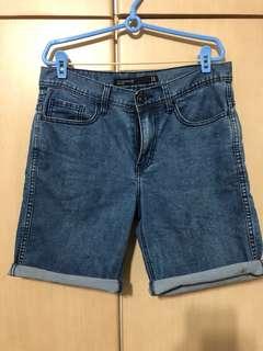 Cotton on denim berms shorts