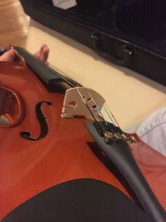 Cremona Violin (with case and tuner)