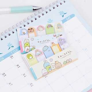 Sumikko Gurashi Post-it strips