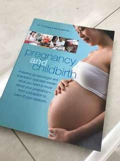 Pregnancy and childbirth book by dr t c Chang & Wong BOH boi