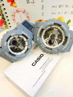 Cashio G-Shock and Baby-G Couple Watch