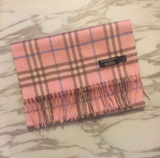 Two Burberry Scarf