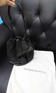 (包順豐門市或智能櫃取貨)Rabeanco 黑色 水桶袋