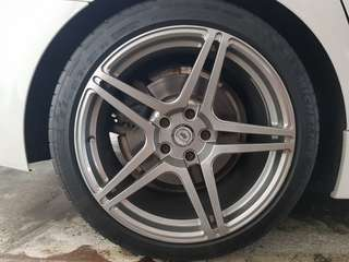 "DPE 19""inch MT5 Forged Rims for F06/F10/F12/F13"