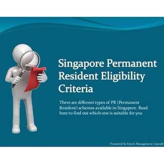 Applying Singapore Permanent Resident (PR) / Citizenship / Work Passes