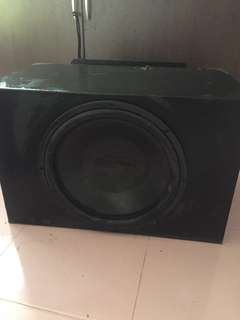 "Woofer 12"" With Monoblock"