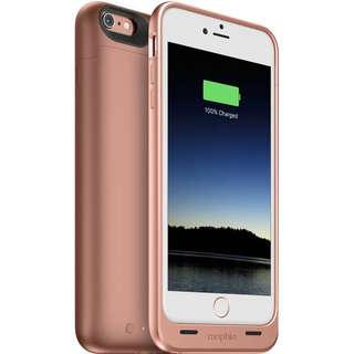 mophie juice pack Battery Case for iPhone 6/6s (Rose Gold)
