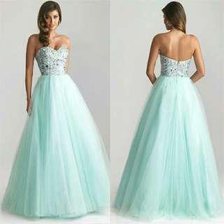 Elegant Lady Strapless Dress Sexy Women Sleeveless Prom Gown Sequins Bridesmaids Long Floor Length Dress Vestidos