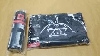 Star Wars 黑武士圖案方形毛巾、披肩