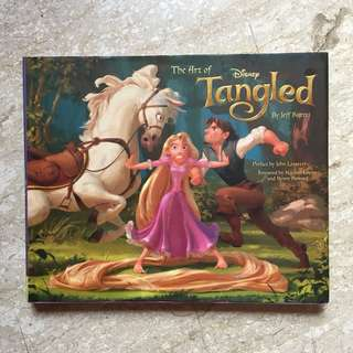 Disney Art of Tangled Artbook